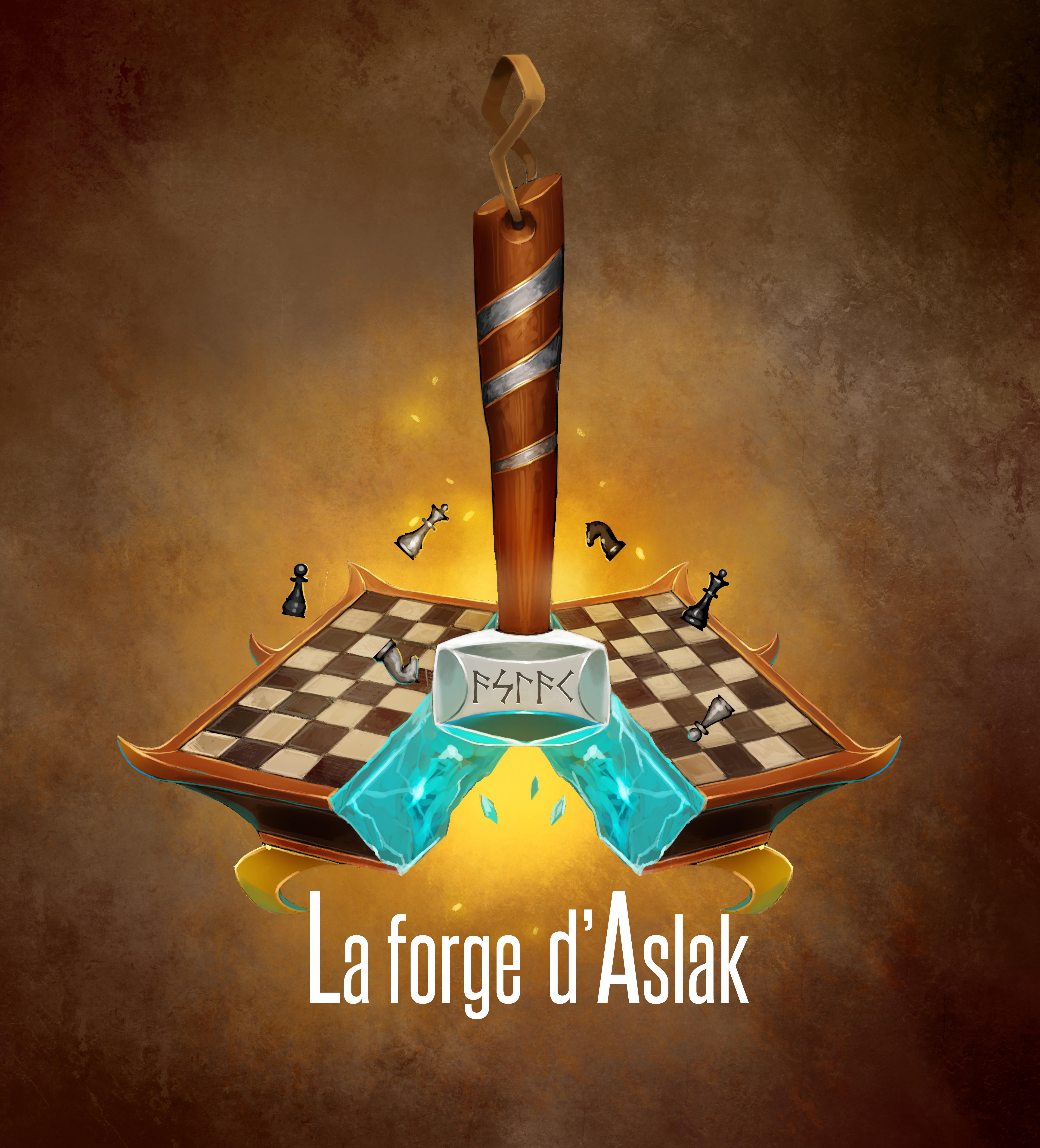 La forge d'Aslak