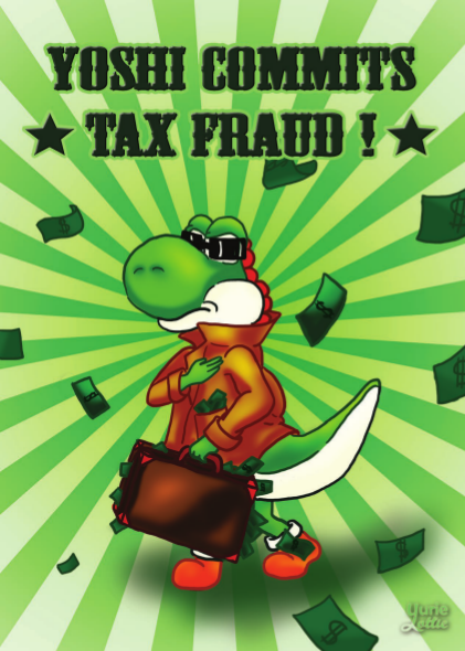 Tipeee Mad Dog Des Cartes Yoshi Commits Tax Fraud Pour Vous