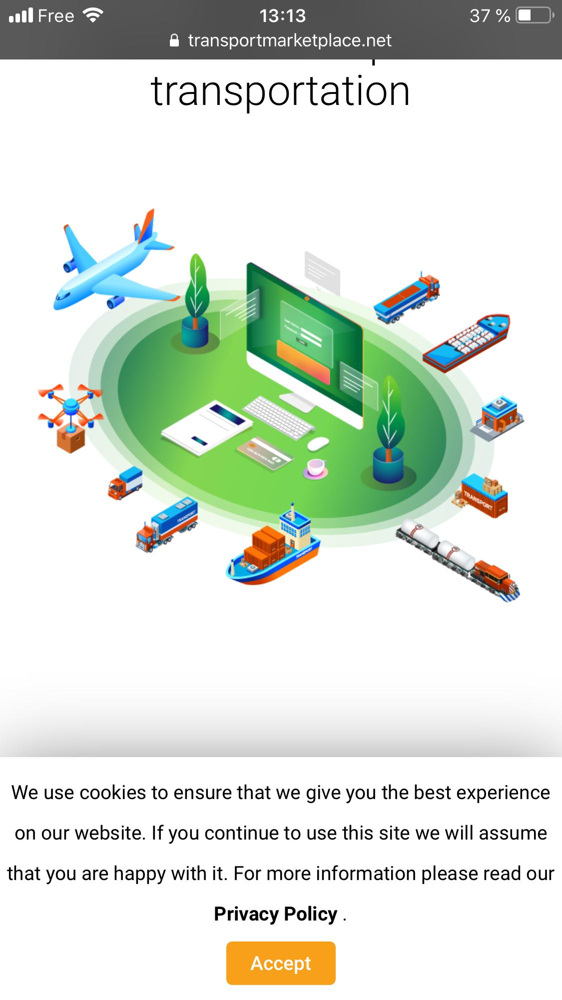 La place de marché du transport neutre et indépendante