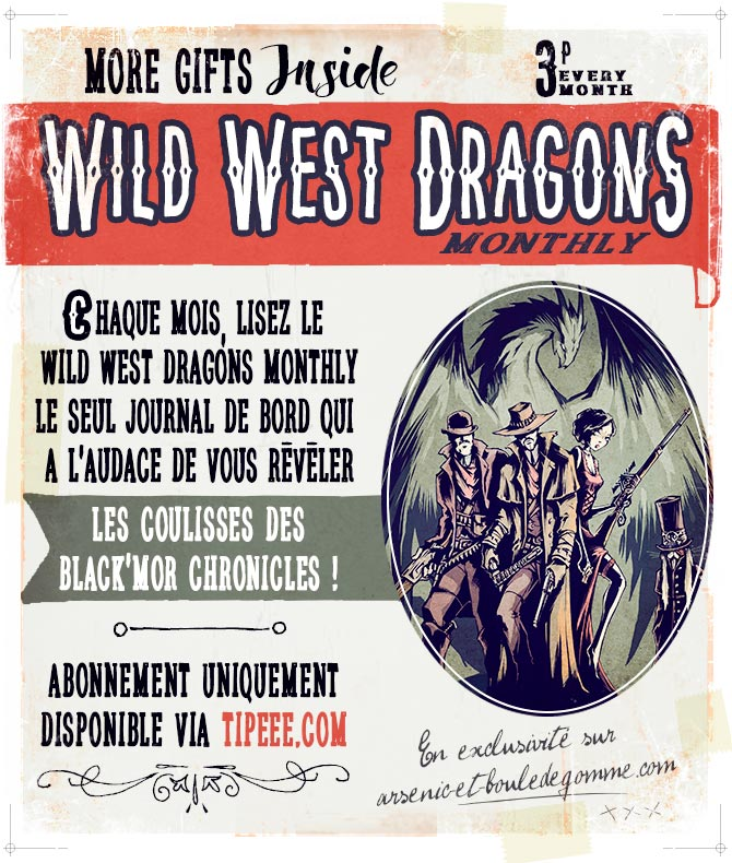 WILD WEST DRAGONS monthly